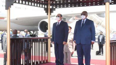 Photo of وصل السيد الرئيس عبد الفتاح السيسي صباح اليوم إلى جيبوتي