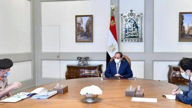Photo of الرئيس يتابع نشاط جهاز مشروعات الخدمة الوطنية في عدد من القطاعات على مستوى الدولة