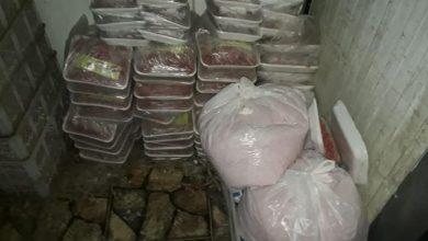 Photo of الجيزة تضبط 30 طن لحوم وأسماك ودواجن مجمدة ومصنعاتهم غير صالحة للاستخدام الادمي