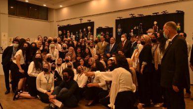 """Photo of إبداع اعدادى فنون جميلة جامعة حلوان  بالزمالك ومعرض """"إنجاز """"لمشاريع الريسايكل للحفاظ على البيئة"""