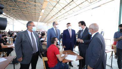 Photo of وزير التعليم العالي يتفقد لجان الامتحانات بجامعة عين شمس