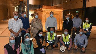 Photo of جولة تفقدية لوضع اللمسات النهائية للعرض المتحفي بالمتحف المصري الكبير
