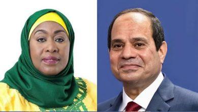 Photo of أجرى السيد الرئيس عبد الفتاح السيسي اليوم اتصالًا هاتفيًا مع السيدة سامية حسن، رئيسة جمهورية تنزانيا المتحدة