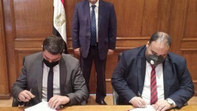 """Photo of وزير قطاع الأعمال العام يشهد توقيع مذكرة تفاهم بين  """"التجارية للأخشاب"""" وغرفة صناعة الأثاث"""