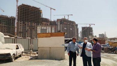 """Photo of مسئولو """"الإسكان"""" يتفقدون سير العمل بالأبراج السكنية والاستثمارية بمنطقة مثلث ماسبيرو"""