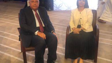 Photo of وزير الخارجية يلتقي نظيرته الليبية