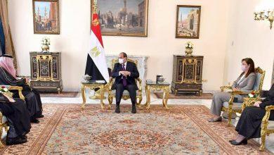 Photo of الرئيس يؤكد علي موقف مصر الثابت من دعم أمن واستقرار السعودية الذي يعتبر جزء من أمن مصر القومي