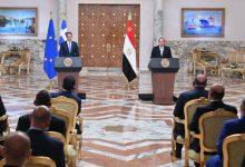 Photo of كلمة السيد الرئيس عبد الفتاح السيسي خلال المؤتمر الصحفي المشترك مع السيد كيرياكوس ميتسوتاكيس رئيس وزراء اليونان