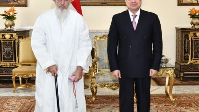 Photo of استقبل السيد الرئيس عبد الفتاح السيسي اليوم السلطان مفضل سيف الدين، سلطان طائفة البهرة بالهند