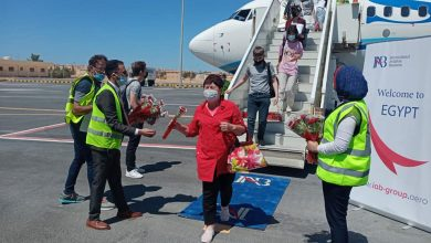 """Photo of مطار مرسي مطروح الدولي يستقبل أولي الرحلات الجوية لشركة """"SCAT"""""""