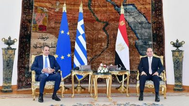 Photo of استقبل السيد الرئيس عبد الفتاح السيسي اليوم السيد كيرياكوس ميتسوتاكيس رئيس وزراء جمهورية اليونان