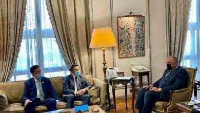 Photo of وزير الخارجية يستقبل المدير التنفيذي لمؤتمر التفاعل وتدابير بناء الثقة في آسيا