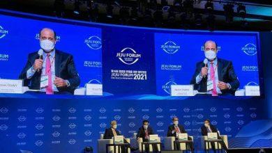 Photo of السفير المصري في سول يشارك في منتدى جيجو للسلام والرخاء لعام 2021