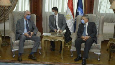 Photo of الفريق أسامة ربيع يلتقي السفير الأرجنتيني لبحث سبل التعاون المشترك