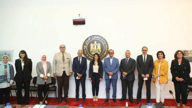 Photo of وزيرة التعاون الدولي تجتمع بعدد من رؤساء الغرف التُجارية ومجالس وجمعيات الأعمال