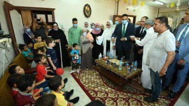 Photo of محافظ الدقهلية يزور دور الرعاية للأيتام والمسنين و يقدم التهنئة لهم بالعيد