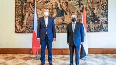 Photo of السفير المصري في براج يلتقي رئيس الوزراء التشيكي