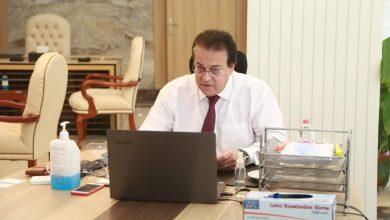 Photo of وزير التعليم العالي يستعرض تقريرًا حول تنفيذ مسابقة بين الجامعات لاختيار فريق يمثل مصر في مسابقة Enactus العالمية
