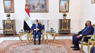 Photo of السيسي يستقبل السيد أيمن الصفدي، نائب رئيس الوزراء ووزير الخارجية وشئون المغتربين بالمملكة الأردنية الهاشمية