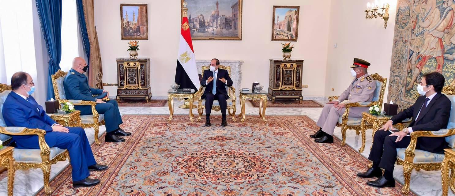 السيد الرئيس يستقبل العماد جوزيف عون قائد الجيش اللبناني