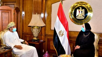 Photo of وزيرة التجارة والصناعة تبحث مع سفير سلطنة عمان لدى مصر سبل تعزيز التعاون الاقتصادي والاستثماري والتجاري بين البلدين