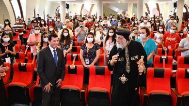 Photo of وزير الشباب والبابا تواضروس يشهدان لقاء خاص مع شباب ملتقي لوجوس الأول