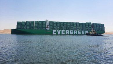 "Photo of الفريق أسامة ربيع:""قناة السويس تشهد عبور سفينة الحاويات ""EVER ACE ""أكبر سفينة حاويات في العالم"