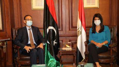 Photo of المشاط: خلال استقبالها وزير الاقتصاد والتجارة بحكومة الوحدة الوطنية في دولة ليبيا