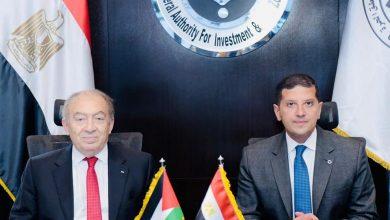 Photo of الرئيس التنفيذي لهيئة الاستثمار يلتقي وزير الاقتصاد الفلسطيني لتفعيل التعاون المشترك بين هيئات الاستثمار في البلدين