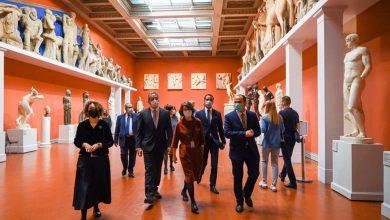 Photo of وزير السياحة والآثار يقوم بزيارة متحف بوشكين للفنون الجميلة و يلتقي بمديري الثلاثة متاحف الرئيسية في موسكو