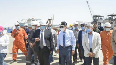Photo of الفريق أسامة ربيع:الكراكة مهاب مميش تنضم للعمل بمشروع تطوير القطاع الجنوبي للقناة