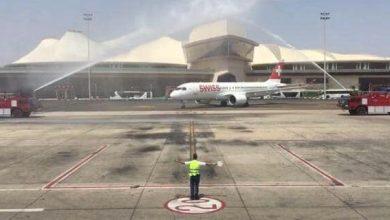 Photo of مطار شرم الشيخ الدولى يستقبل أولى رحلات شركة الخطوط السويسرية Swiss Air