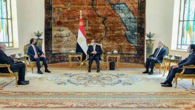 Photo of الرئيس يؤكد خلال استقباله لرئيس مجلس النواب العراقي على استعداد مصر الكامل لدعم العراق في كافة المجالات