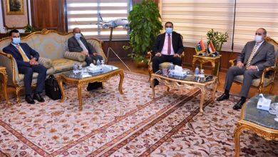 Photo of وزير الطيران المدنى يبحث سبل  التعاون مع وزير المواصلات الليبى