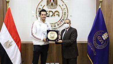 Photo of هيئة الدواء المصرية تكرم أبطال مصر بأولمبياد طوكيو ٢٠٢٠