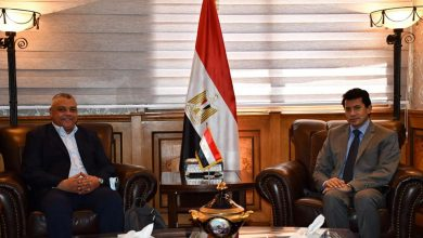 Photo of وزير الرياضة يلتقي مدير المكتب الإقليمي للوكالة الدولية لمكافحة المنشطات