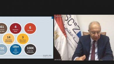 Photo of رئيس الهيئة الاقتصادية لقناة السويس يستعرض فرص وحوافز الاستثمار في المنطقة الاقتصادية أمام منتدى الأعمال الكندي العربي