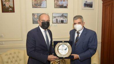 Photo of الفريق أسامة ربيع يلتقي سفير المملكة الأردنية الهاشمية لبحث سبل التعاون المشترك