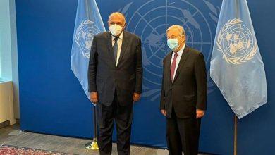 Photo of وزير الخارجية يلتقي الأمين العام للأمم المُتحدة في ختام زيارته الحالية إلى نيويورك