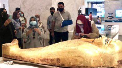 Photo of وفود رفيعة المستوي من الأردن والجابون والمجر تزور المتحف القومي للحضارة المصرية