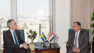 Photo of وزير المالية.. فى لقائه بالسفير السويدى بالقاهرة