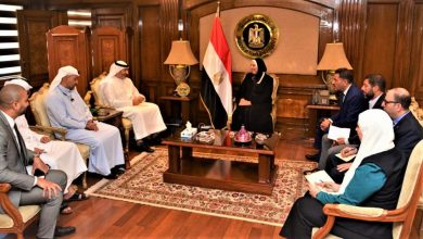 Photo of وزيرة التجارة والصناعة تبحث مع المدير العام لمجلس الإمارات للشركات الدفاعية