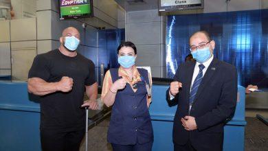 Photo of بيج رامي يشكر مصرللطيران خلال سفره اليوم للمشاركة في مستر أوليمبيا 2021