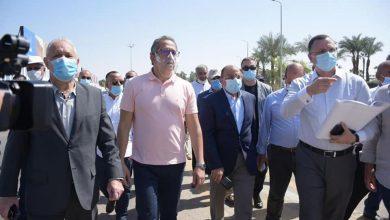 "Photo of وزيرا التنمية المحلية والسياحة والآثار  يتفقدان مشروعات إحياء "" طريق الكباش"""