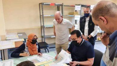 Photo of وزير التعليم العالي يتفقد مكتب تنسيق القبول بالجامعات والمعاهد