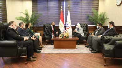 Photo of وزيرة الصحة والسفير الأمريكي لدى مصر يعقدان مؤتمرًا صحفيًا لاستعراض سبل التعاون بين البلدين