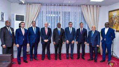 Photo of رئيس الوزراء الكونغولى يستقبل نائب وزير الإسكان ووفد شركة المقاولون العرب