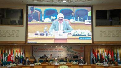 Photo of وزيرة الصحة تسلم رئاسة الدورة الحالية إلى وزير الصحة الليبي